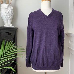 Calvin Klein V-neck wool sweater